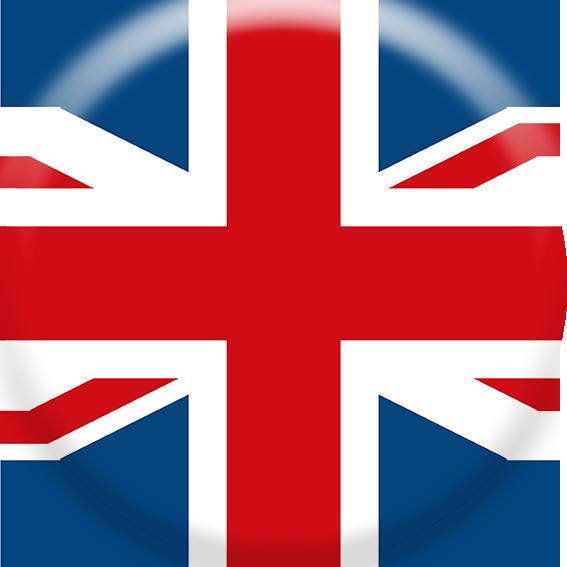 Delta -Guss Button Englisch